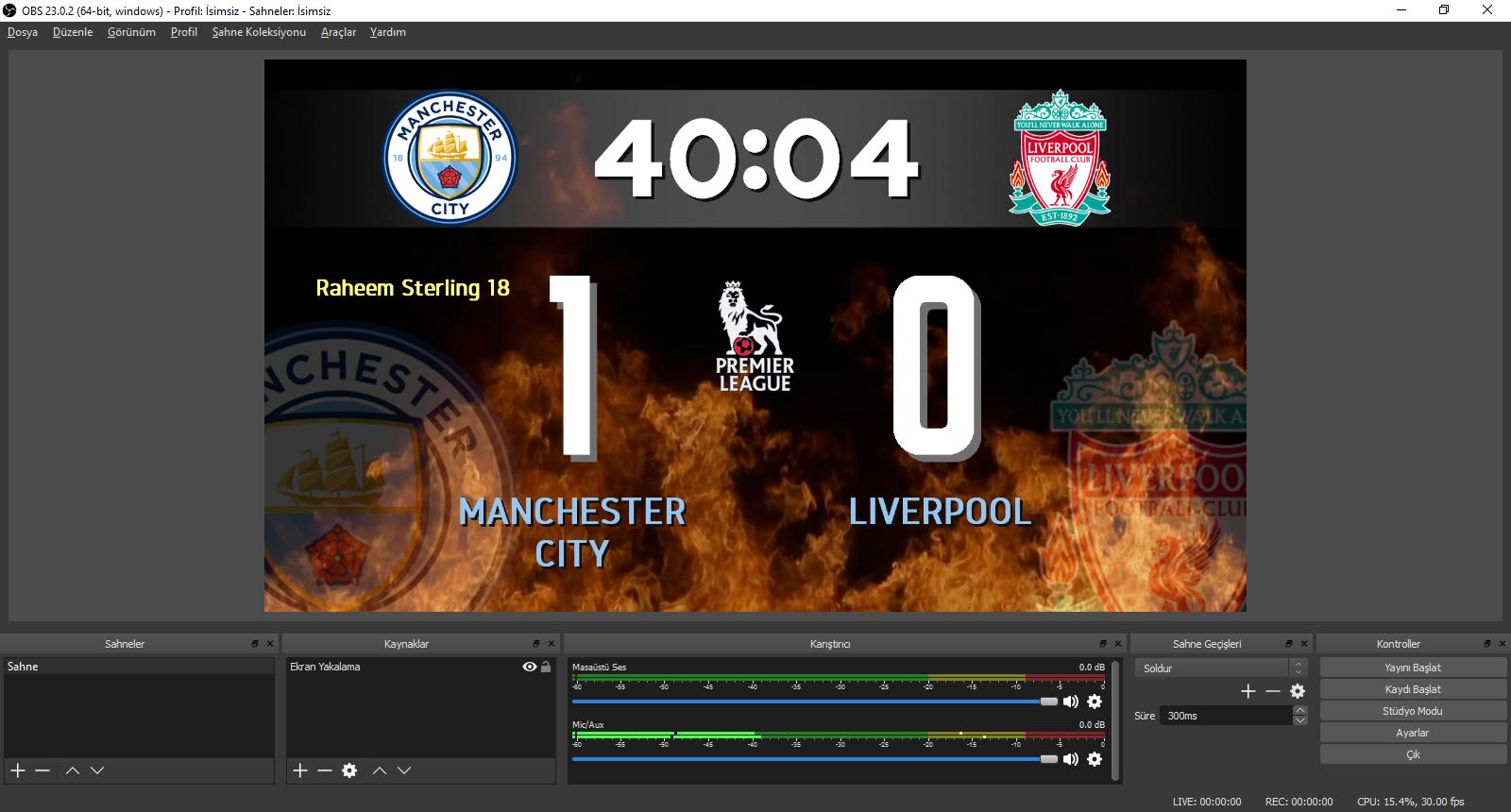 soccerboard © | Football Scoreboard Software